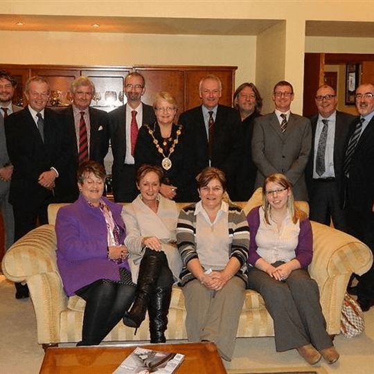 Lisburn City Council recognises 100 years of success at Johnsons Coffee