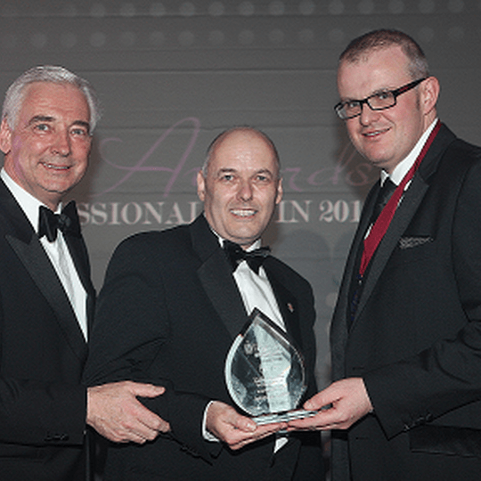 Johnsons Coffee honoured as the Stars of Northern Irelands Best of Hospitality receive Janus Awards