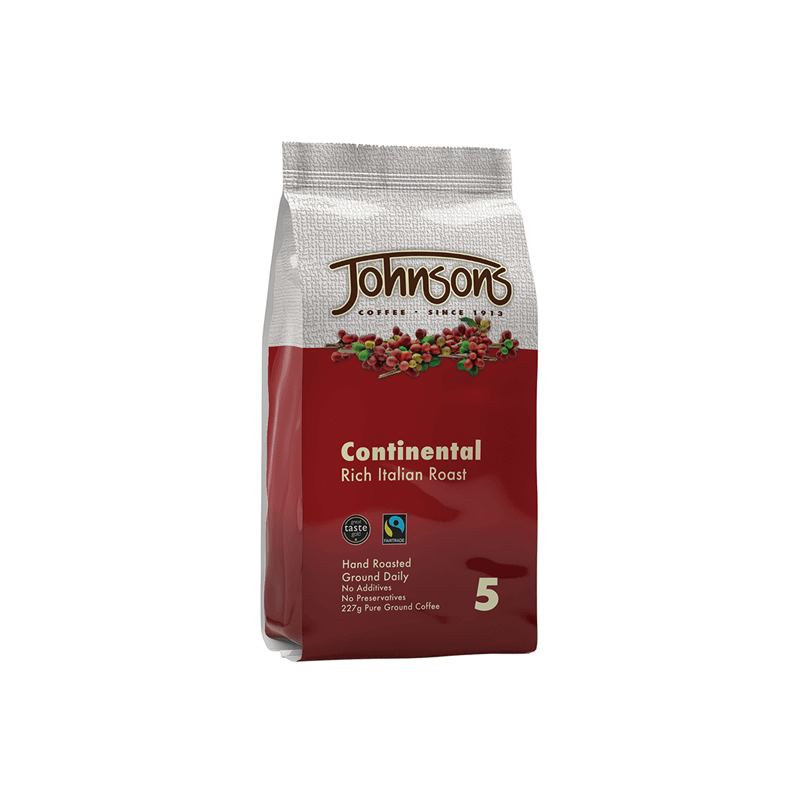 Continental Fairtrade Dark Roast Ground Coffee